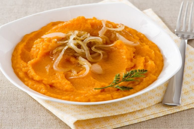 Purè di carote e cipolle