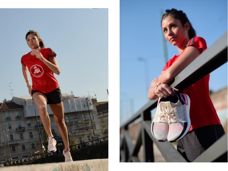 Sara Galimberti capitano adidas runners Ultraboost 19 running corsa Milano 5