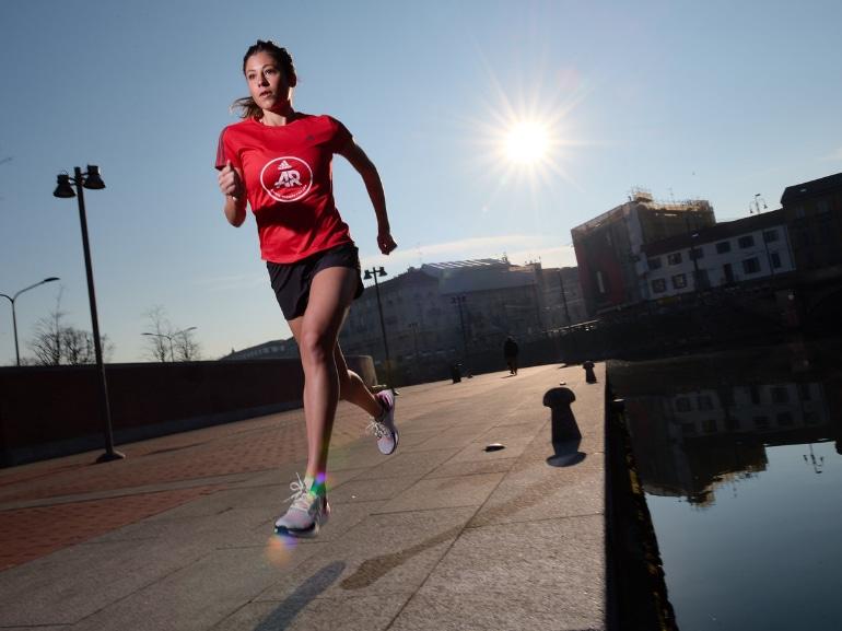 Sara Galimberti capitano adidas runners Ultraboost 19 running corsa Milano 7