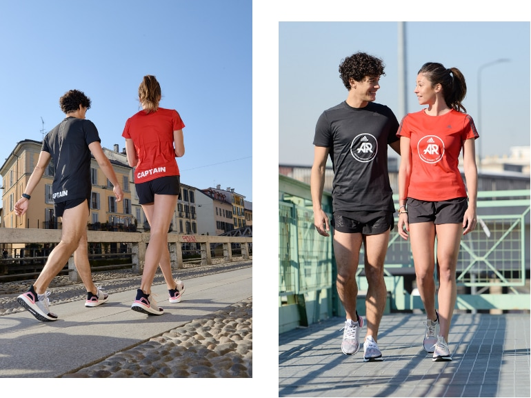 Sara Galimberti capitano adidas runners Ultraboost 19 running corsa Milano 8