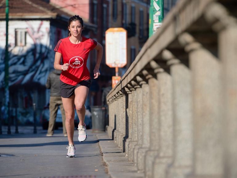 Sara Galimberti capitano adidas runners Ultraboost 19 running corsa Milano 9