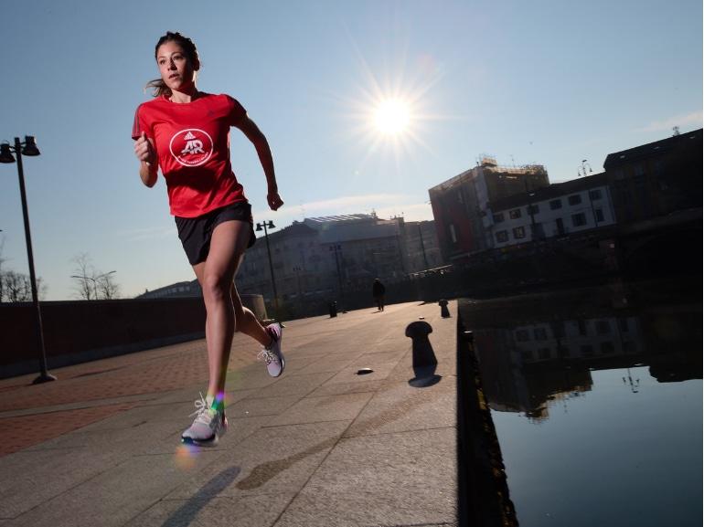 Sara Galimberti capitano adidas runners Ultraboost 19 running corsa Milano MOBILE