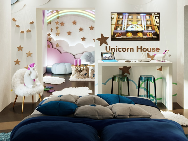 Unicorn House 3