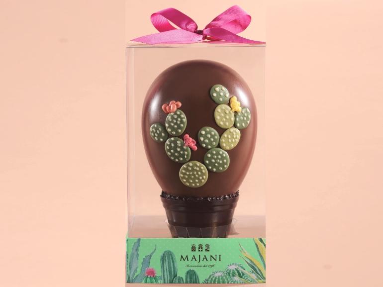 Uovo Cactus Majani