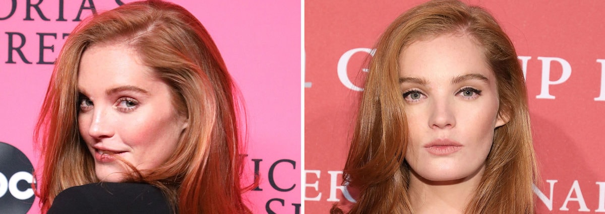 Alexina Graham: trucco e capelli dell'angelo ginger di Victoria's Secret