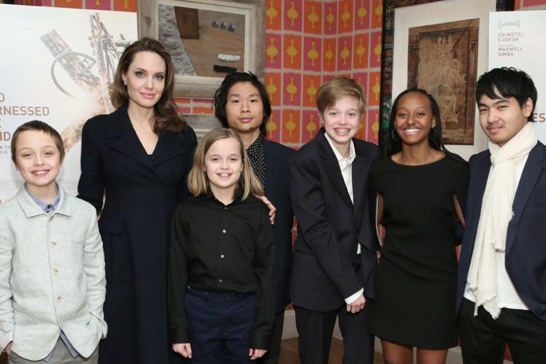 """Brad Pitt è preoccupato che Angelina Jolie stia """"rovinando"""" i 6 figli"""