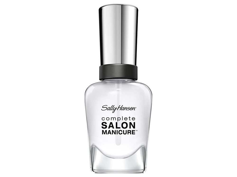 sally hansen complete salon manicure 110 clear'd for takeoff
