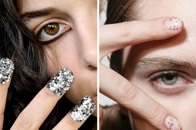 Unghie con glitter: le ispirazioni più belle per una nail art scintillante