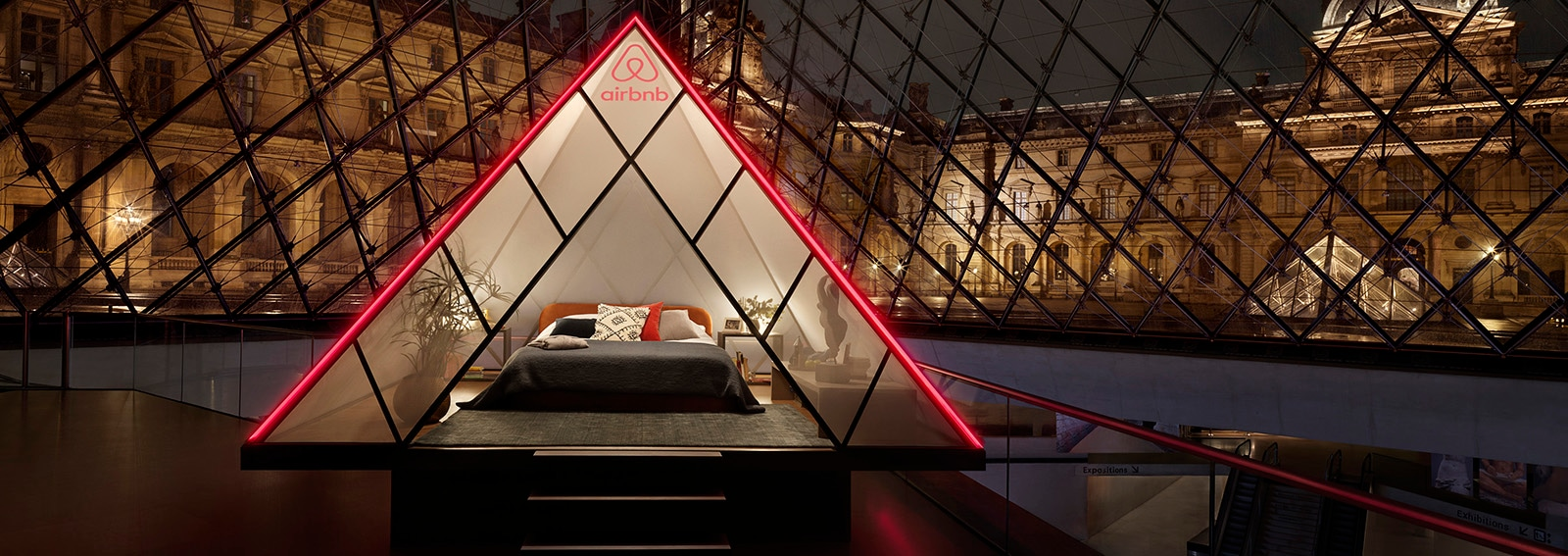 Airbnb x Louvre Julian Abrams14 parigi