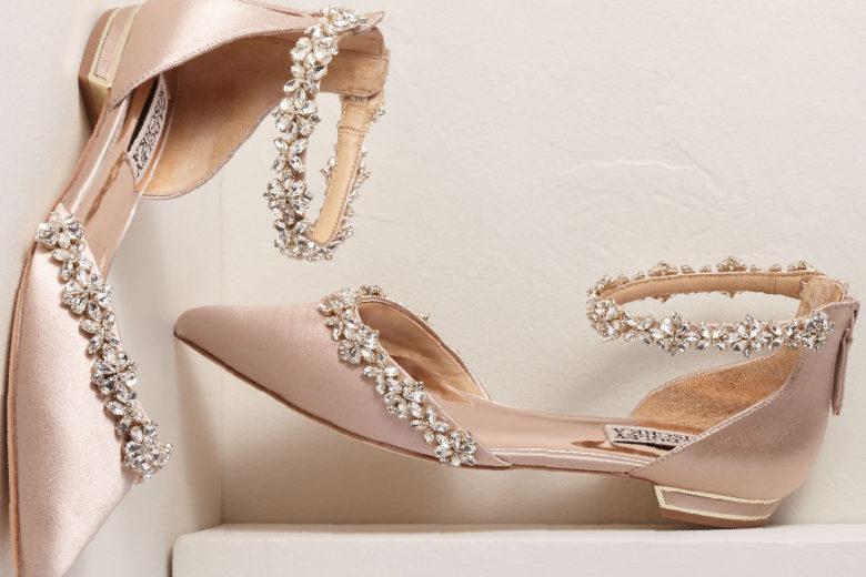 Scarpe basse da sposa: ballerine e kitten heels