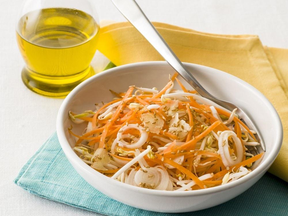 Carotine in insalata