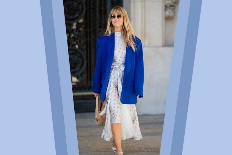 Il blazer oversize? Indossatelo su un abito romantico (proprio come l'influencer danese)