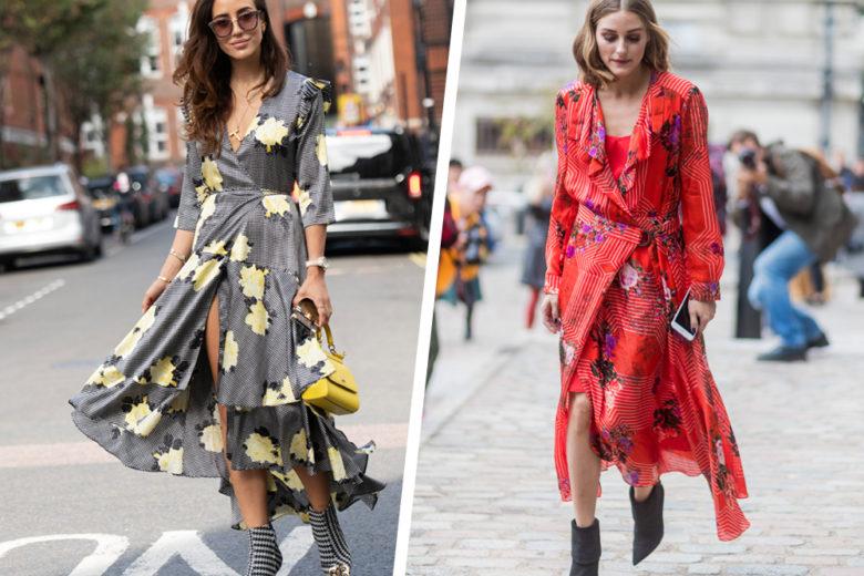 Wrap dress: tutti gli abiti a portafoglio da amare (e avere) ora