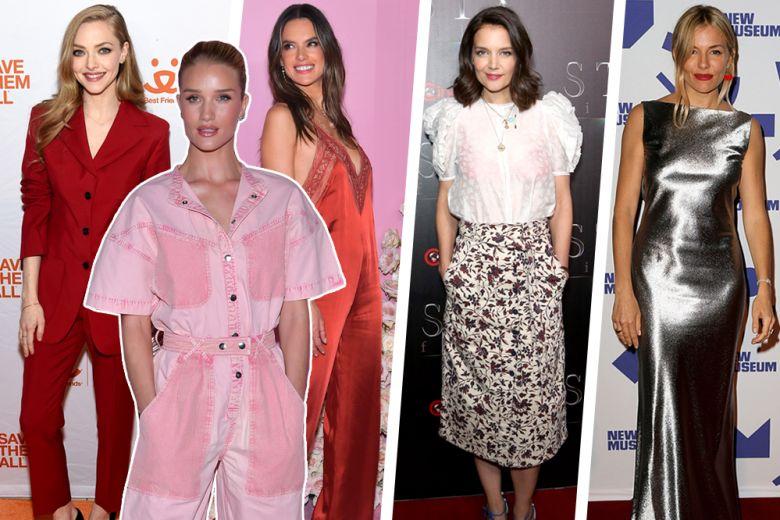 Katie Holmes, Sienna Miller e le altre star meglio vestite della settimana