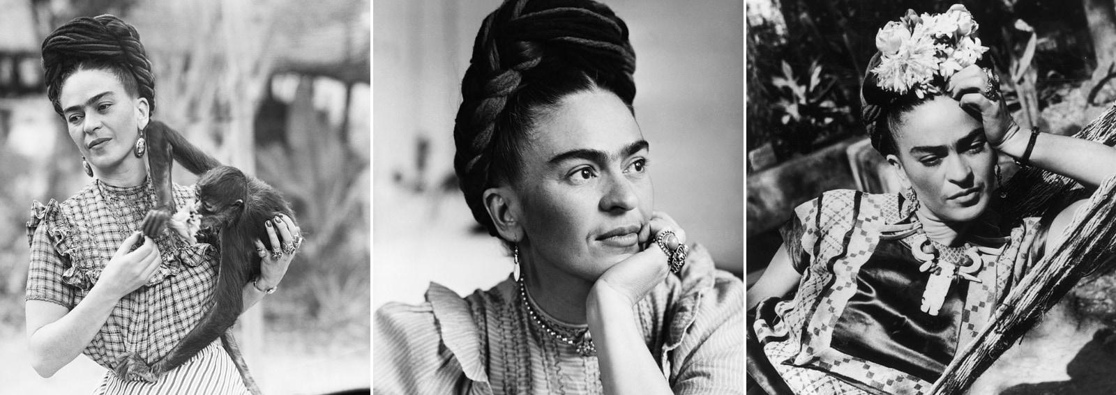 Frida Kahlo pittrice messicana vita opere amori dolori DESK