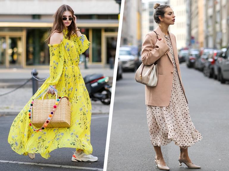 Maxi Dress: come abbinarli in 5 look per la Primavera