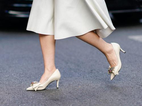 nuovi arrivi selezione straordinaria vari design Scarpe bianche 2019: eleganti e con tacco, i modelli perfetti per ...