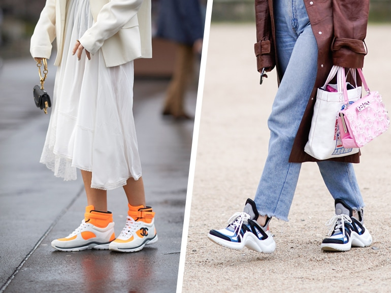 Sneakers: come abbinarle in 5 look super cool!