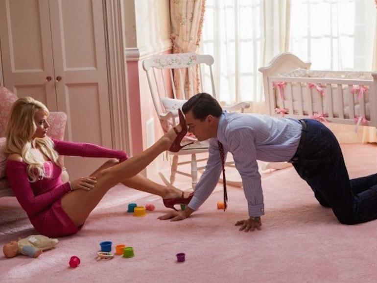Margot Robbie vestito rosa
