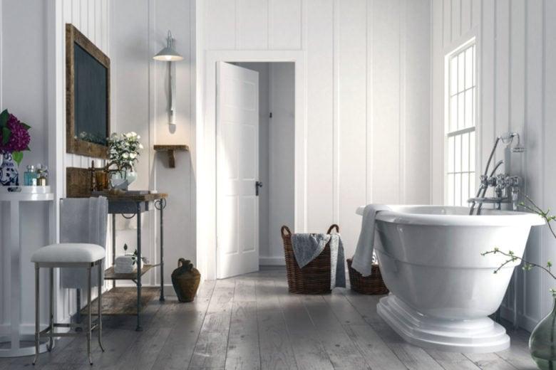 Come arredare un bagno piccolo per renderlo più grande