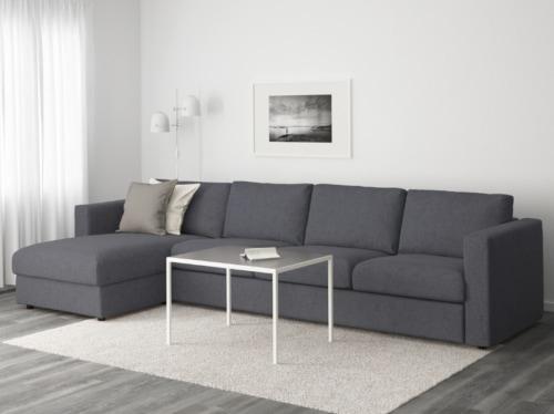 Divano 4 Posti Lineare.Divani Angolari Ikea I 10 Modelli Piu Belli Da Comprare Subito
