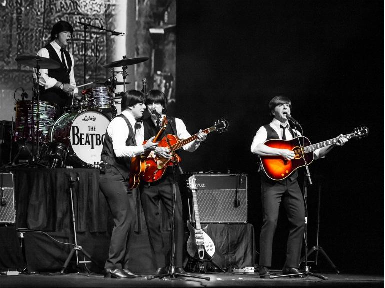 beatles musical revolution roma