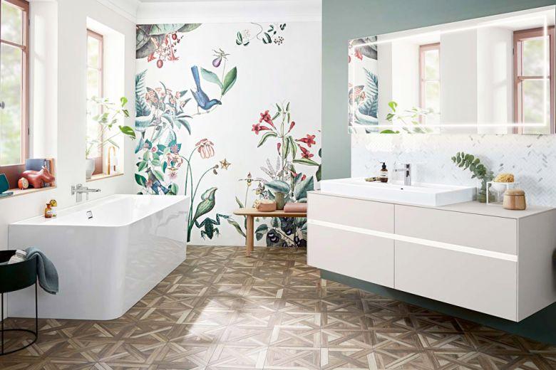 Arredare un bagno moderno con un lavabo da appoggio