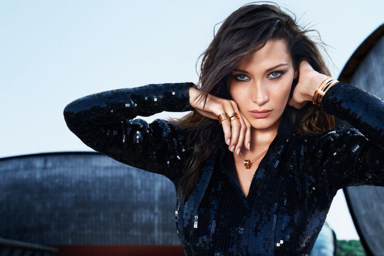 """Bella Hadid testimonial di """"B.zero1"""" di Bvlgari"""