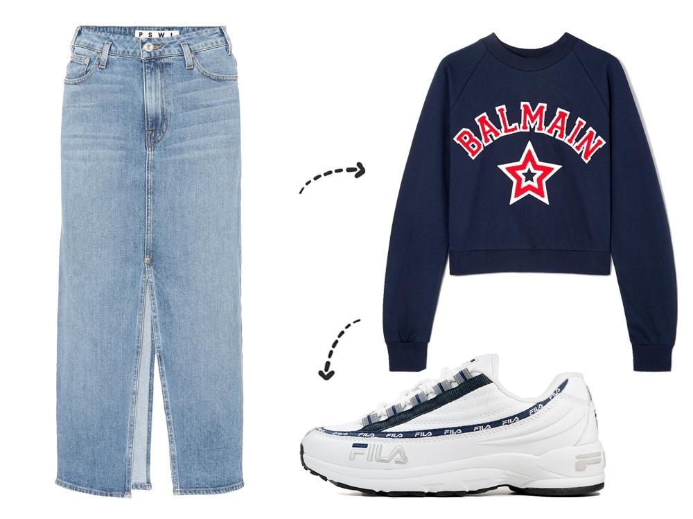 promo code 6a1a8 161dd Gonna di jeans: come abbinarla per la primavera estate 2019