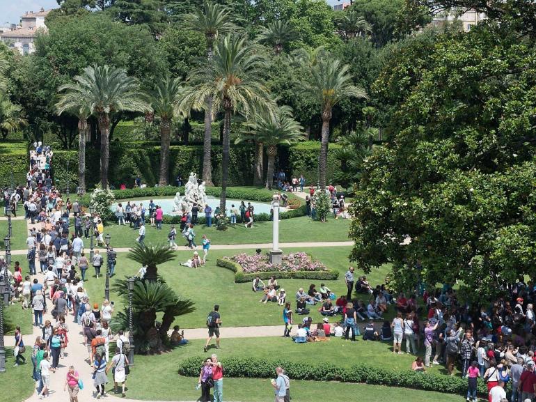 Apertura straordinaria Giardini di Palazzo del Quirinale
