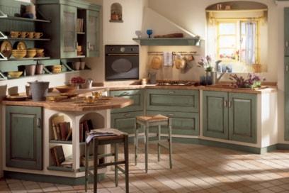 10 cucine in muratura che vi faranno innamorare
