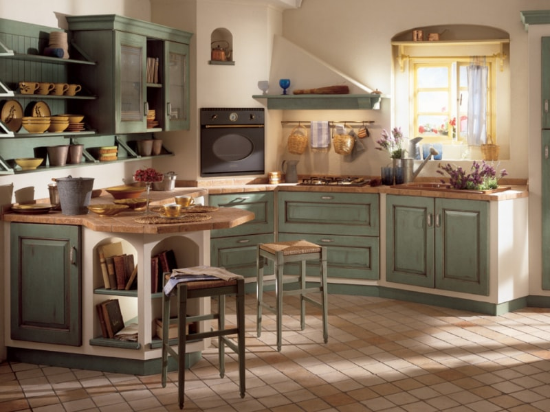 Cucine in muratura_Mobile