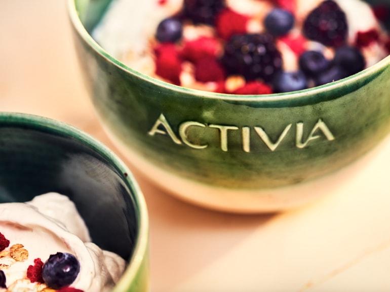 Danone Activia yogurt benessere intestinale probiotici