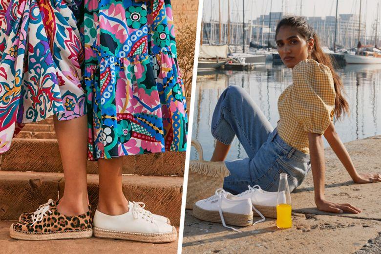 Espadrillas o sneakers? Le scarpe dell'estate per chi vuole entrambe!