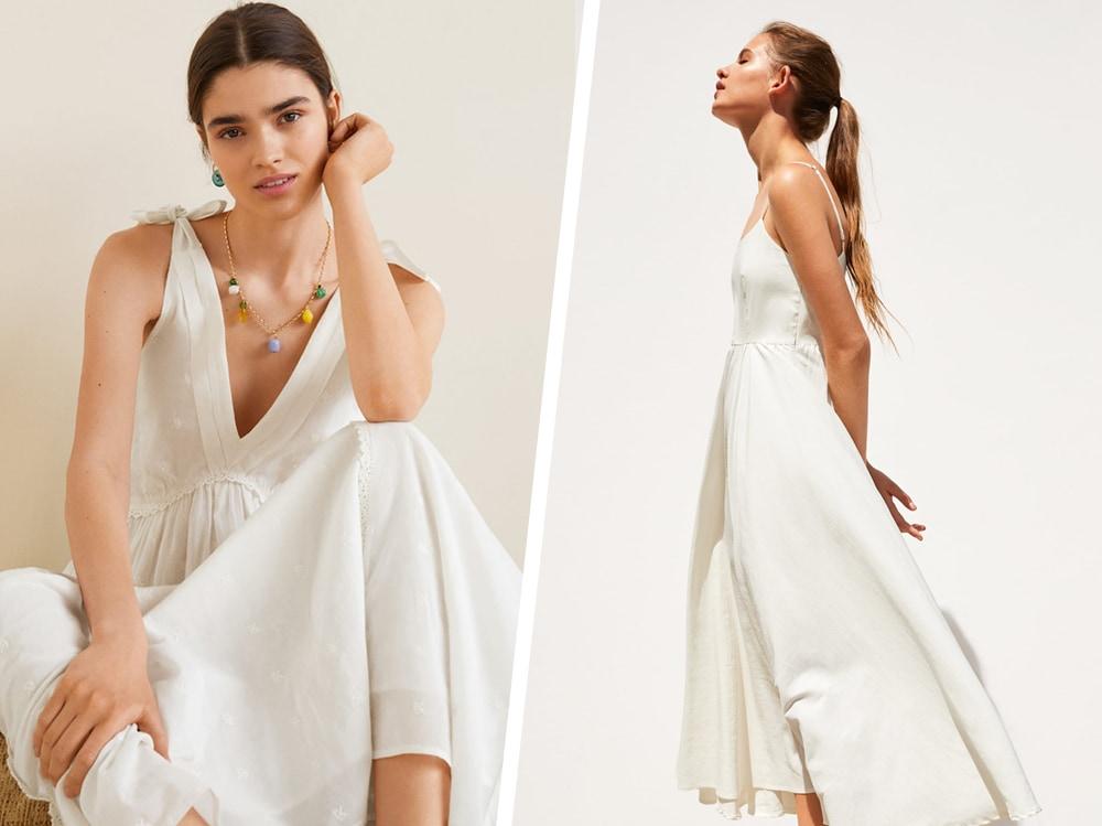 check out b82d0 aaa80 Abiti bianchi: lunghi, corti ed eleganti, sono i vestiti per ...