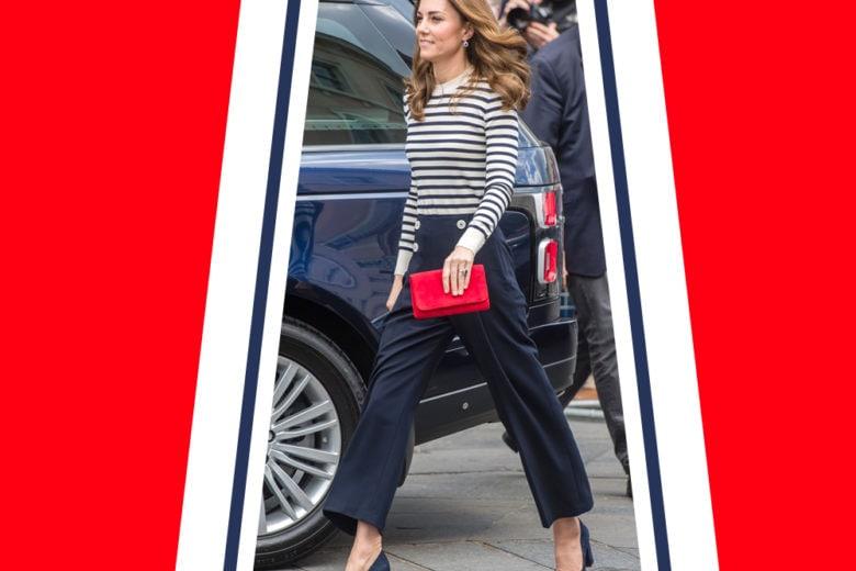 """Kate Middleton e il look """"navy style"""" che abbiamo sempre sognato"""