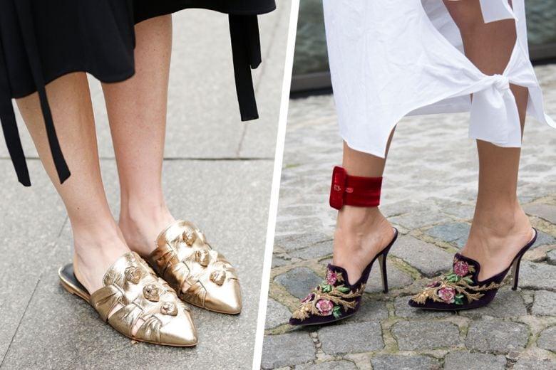 Mules e sabot: le scarpe must have del momento