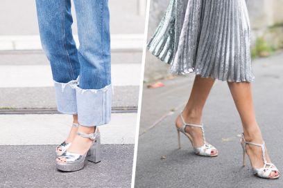 I sandali argento da sfoggiare quest'estate (notte e giorno!)