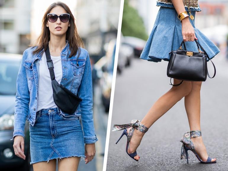 MOBILE_gonne di jeans