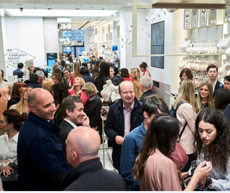 Yamamy nuovo store Milano Cordusio evento grazia 3