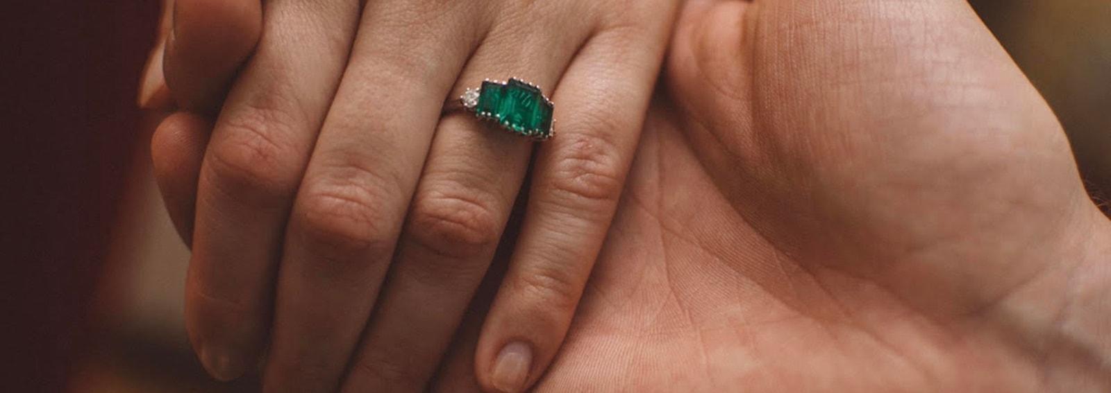 anello fidanzamento michela gombacci