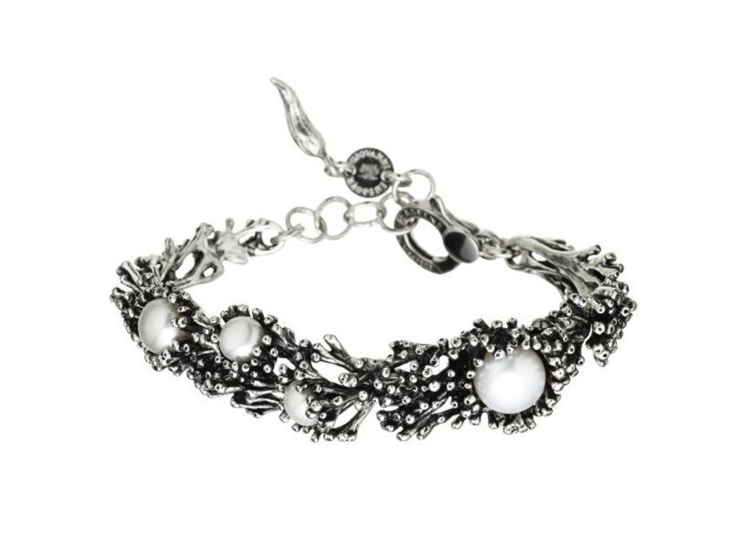 bracciale-collezione-Anemone-di-Mare-in-argento-e-perla-naturale-GIOVANNI-RASPINI