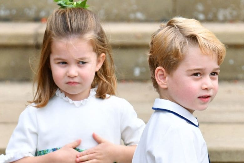Nuove foto dei Royal Baby: eccoli tutti e tre insieme
