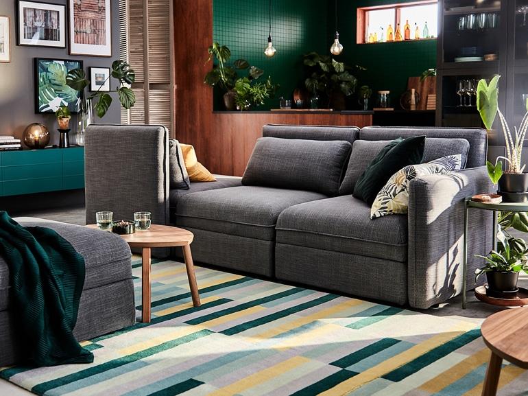 Come arredare un soggiorno moderno con IKEA - Grazia.it