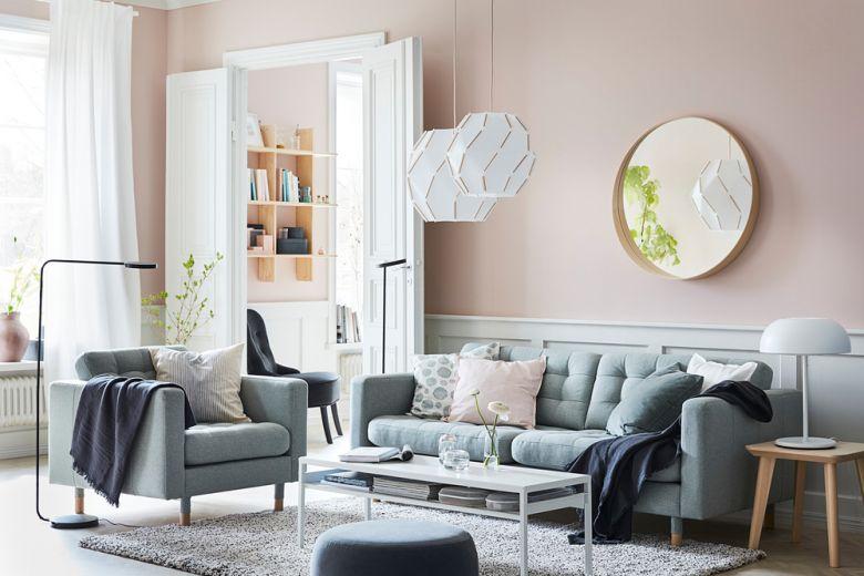 Come arredare un soggiorno moderno con IKEA