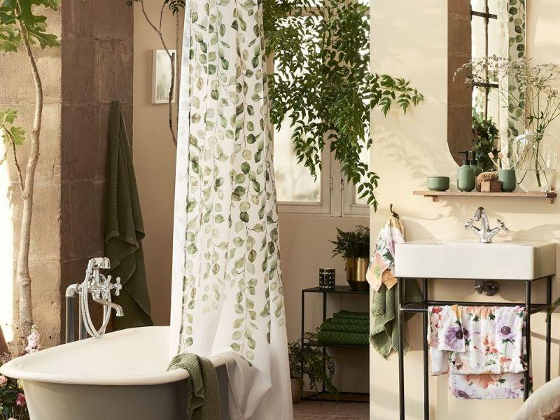 mobile piante bagno