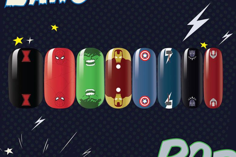 Nail art Avengers: le manicure ispirate ai supereroi di casa Marvel