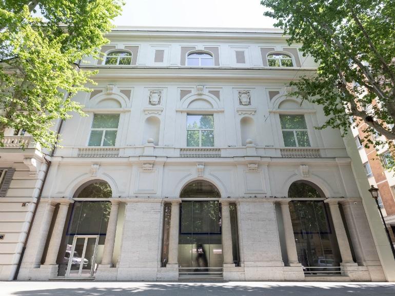 palazzo merulana roma