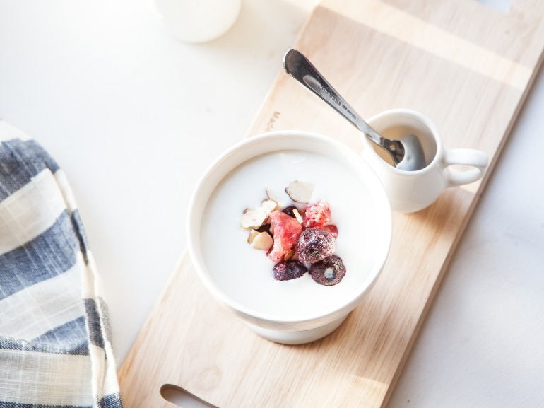 Activia Danone Probiotici yogurt