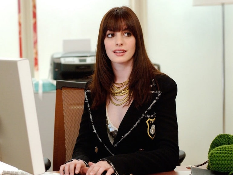 Anne Hathaway frangia